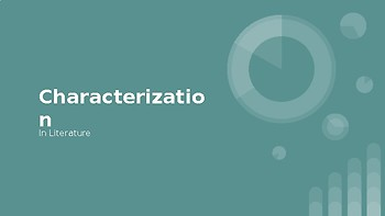 Characterization: A Quick and Easy How To Lesson