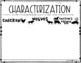 Characterization Activity: The Fabulous Friend Machine