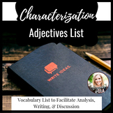 Characterization Adjectives List
