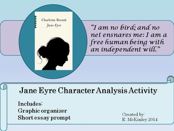 Jane Eyre: Character analysis, focus on author's diction, connotation,denotation