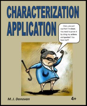 Characterization Application