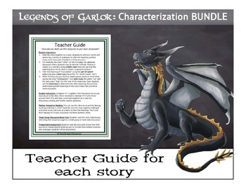 Characterization BUNDLE-5 Fantasy Short Stories for Reading Comprehension