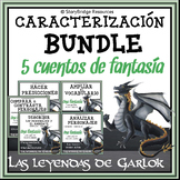 Characterization BUNDLE-5 Spanish Fantasy Stories for Read