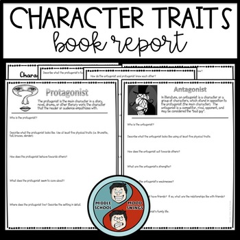 Book Report - Characterization