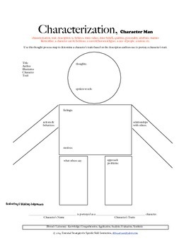 Characterization:  Character Man