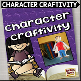 Characterization Craftivity For Fiction Books