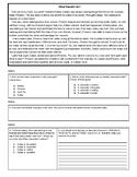 Characterization Exit Ticket #2 (DOK 1, DOK 2, DOK 3)