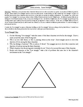 Characterization FREEBIE:  Love Triangles in Literature