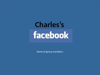 Characterization Facebook PowerPoint