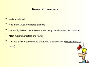 Characterization: Flat or Round - Static or Dynamic