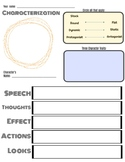 Characterization Graphic Organizer STEAL Method
