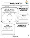 Characterization Graphic Organizer - Universal