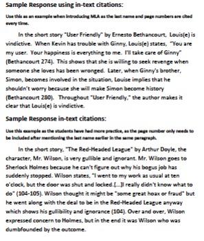 Character Analysis Paragraph Writing Activity