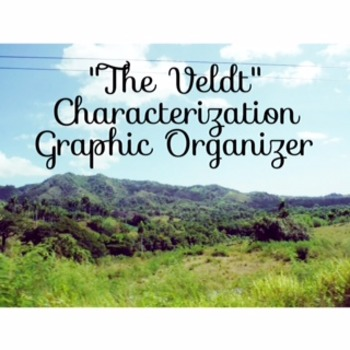 """Characterization Graphic Organizer for """"The Veldt"""""""