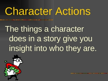 Characterization: How an Author gives their characters a personality