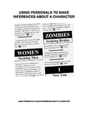 Story Characters - Inferring Characteristics Using Personal Ads