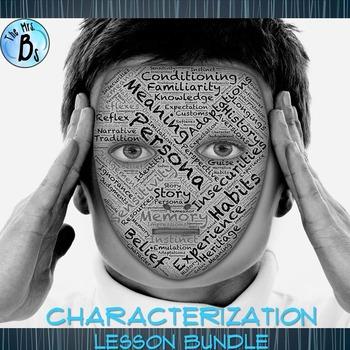 Characterization Lesson Bundle: PowerPoints & Activities