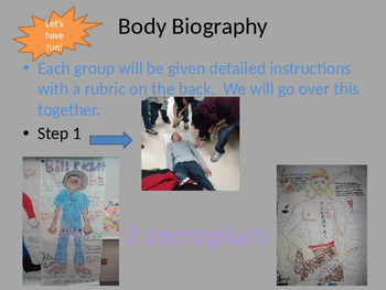 Characterization Lesson and Interactive Project