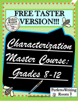 Characterization Master Course FREEBIE - Demo for You!