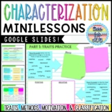 Characterization Mini-Unit | STEAL Characterization Guided Notes