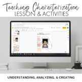Characterization Narrative Writing Mini-Unit
