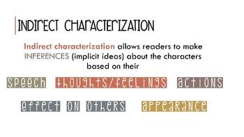 Characterization Notes