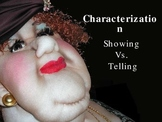 Characterization, POV, Character Types, Etc. PowerPoint
