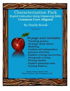 Characterization Pack