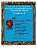 Characterization Pack