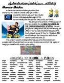 Characterization Packet-- Despicable Me