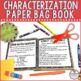 Characterization Paper Bag Book
