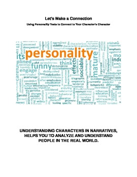 Story Characters - Personality Tests Help Students Understand Story Characters