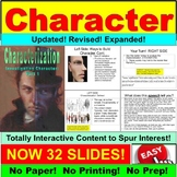 Characterization: Interaction, Movie Clips, More!