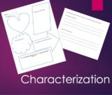 Characterization Practice Graphic Organizer