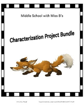 Characterization Project Bundle