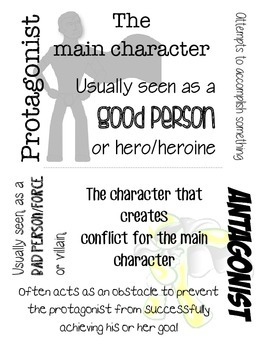 Characterization: Protagonist & Antagonist