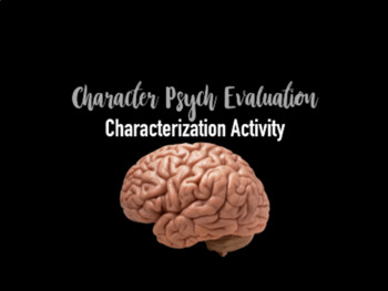 Characterization Psych Test
