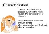 Characterization Smartboard Lesson