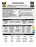Characterization (Student Reference/Handout)