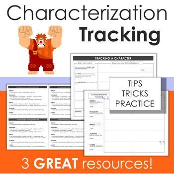 Characterization Tracking *FREEBIE!*