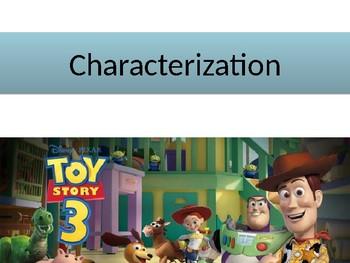 Characterization Using Toy Story