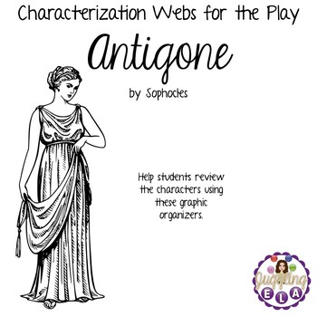 Characterization Webs for Antigone by Sophocles