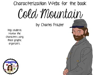 Characterization Webs for Cold Mountain by Charles Frazier