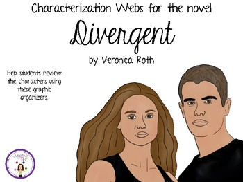 Characterization Webs for Divergent by Veronica Roth
