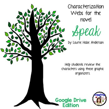 Characterization Webs for Speak by Laurie Halse Anderson Google Drive Edition