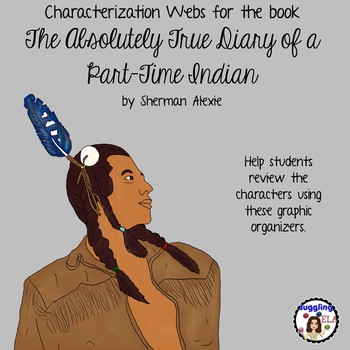 Characterization Webs for The Absolutely True Diary of a Part-Time Indian