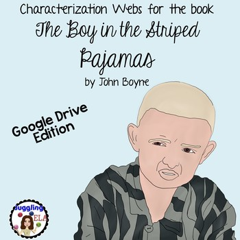 Characterization Webs for The Boy in the Striped Pajamas Google Drive Edition