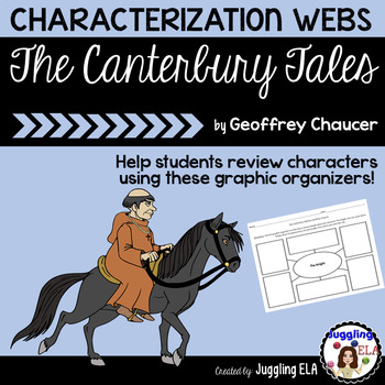 Characterization Webs for The Canterbury Tales: The Pilgrims