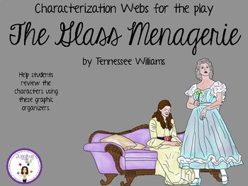 Characterization Webs for The Glass Menagerie by Tennessee Williams