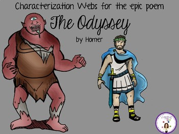Characterization Webs for The Odyssey by Homer